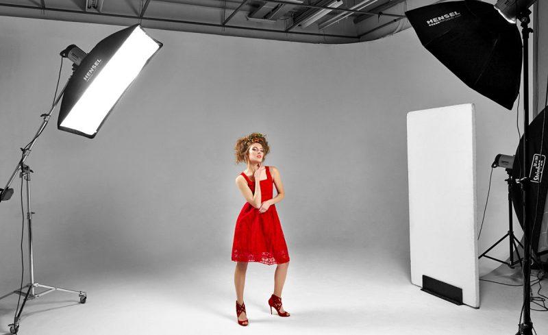 ten lighting set ups for fashion shoots