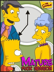 The Simpsons- Mature Fuck Session