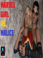 Marvel Girl vs. Malice- [By Jossan]