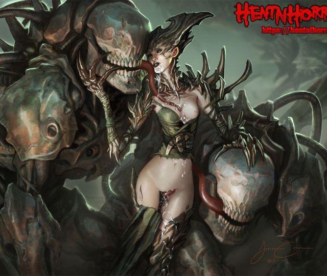 Nsfw Xxx Sci Fi Horror Porn Of Alien Queen Resurrection Milf Ann