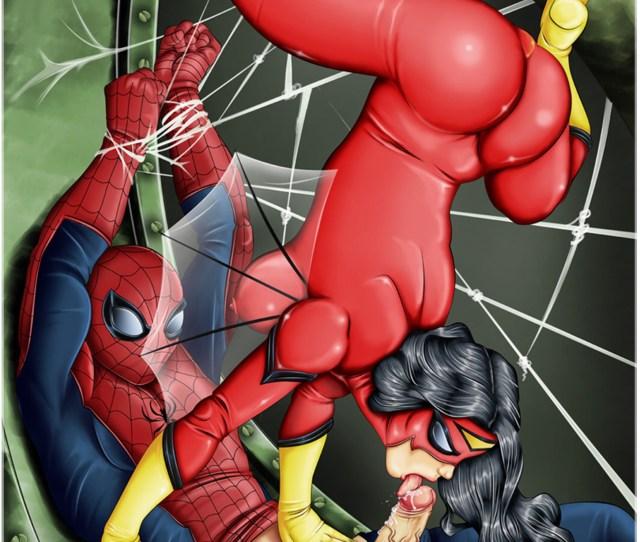 Nsfwhentai Marvelcomics Spiderman Spiderwoman Cartoonporn