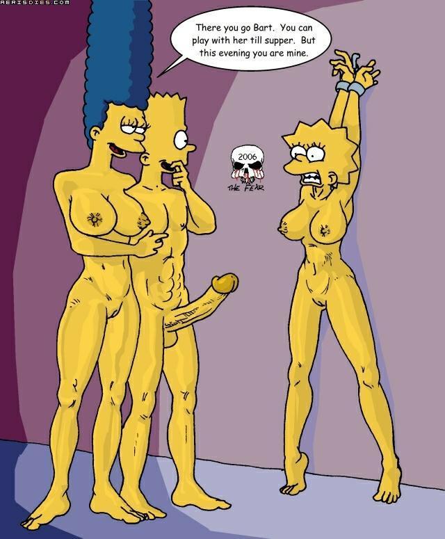 Bdsm the simpsons Simpsons Sex