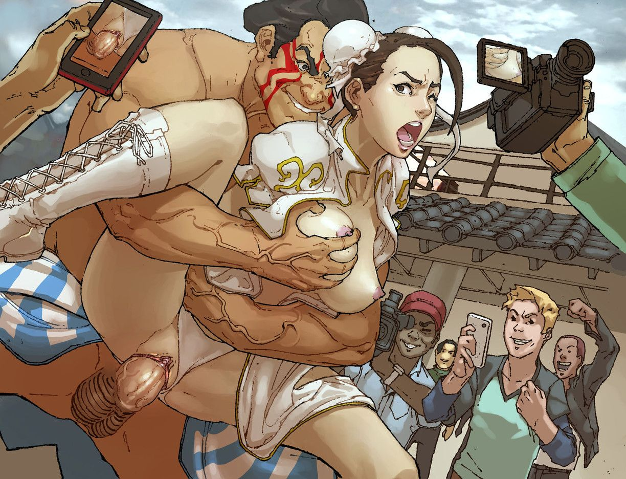 Street Fighter Hentai Drawing 16