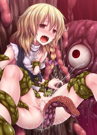 Hentai Tentacle Porn Drawing 05