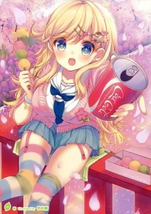 Moe Girl Japanese Artwork 40