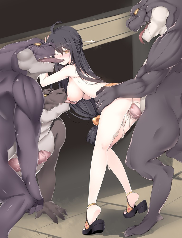 Monster Sex Hentai Porn Drawing 29