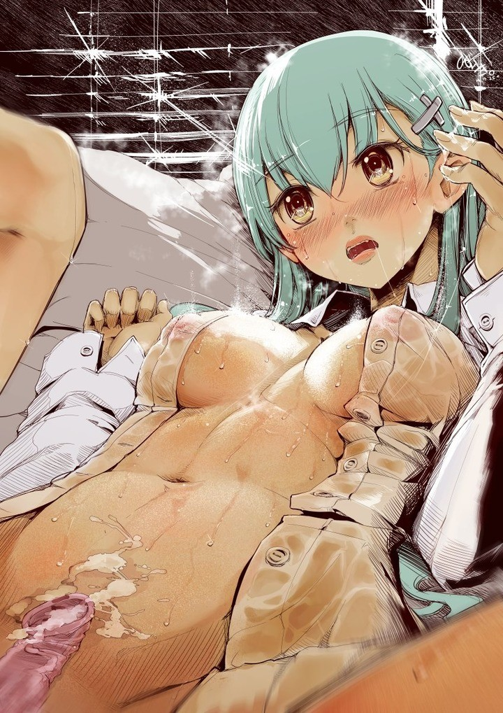 Kantai Collection Suzuya KanColle Hentai 07