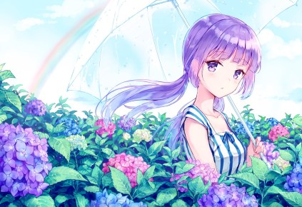 Summer Fun Japanese Moe Art 49