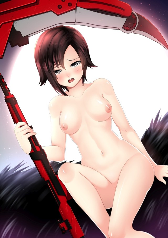 Thirty Hentai Drawings Of Ruby Rose From RWBY