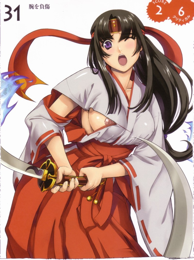 Queen's Blade Tomoe Hentai Drawing 08