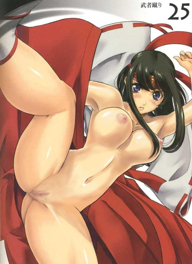 Queen's Blade Tomoe Hentai Drawing 14