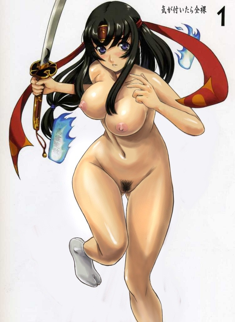 Queen's Blade Tomoe Hentai Drawing 15