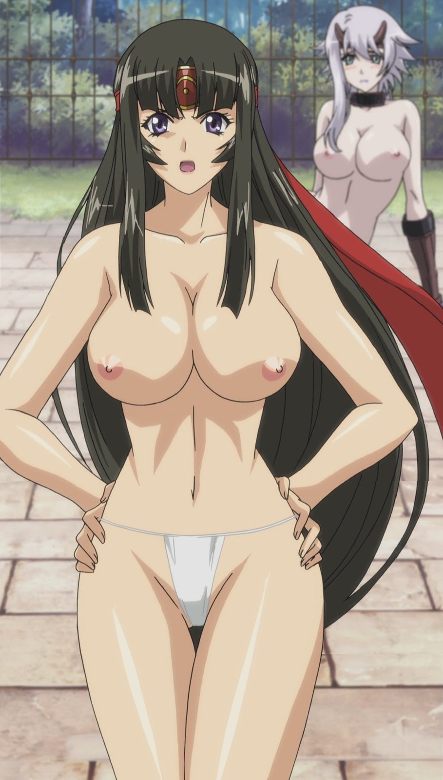 Queen's Blade Tomoe Hentai Drawing 24