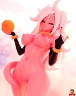 Android 21 Dragon Ball FighterZ Hentai 17