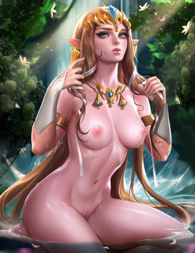 Thirty Hentai Drawings Of Nintendo's Princess Zelda