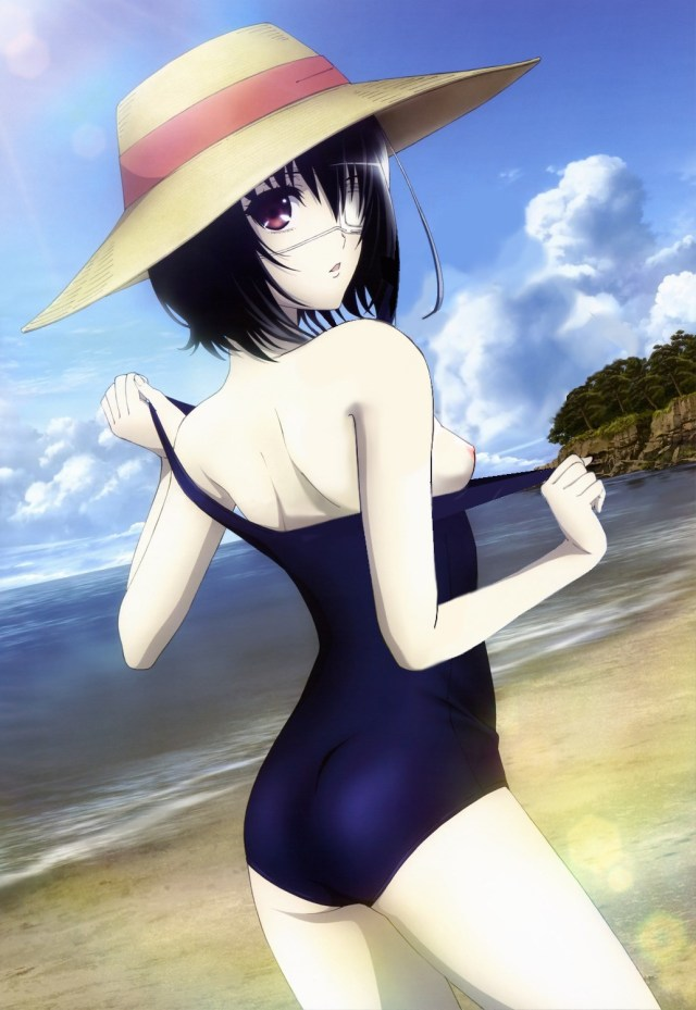 Thirty New One-Piece Swimsuit Hentai Drawings