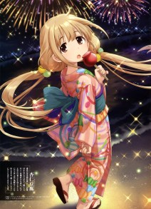 Moe Japanese Firework Artwork 23