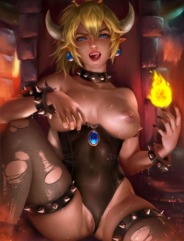 More Nintendo Fan Fiction Hentai Drawings Of Bowsette