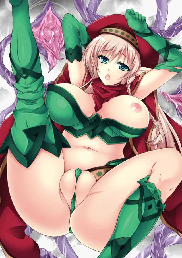 Thirty Hentai Drawings Of Alleyne From Queen's Blade