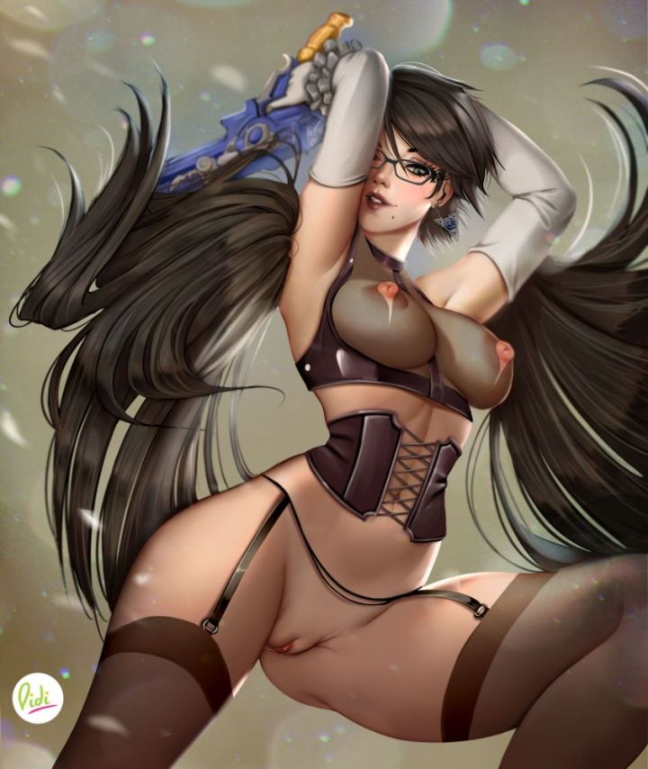 Thirty More Uncensored Hentai Pictures of Bayonetta!