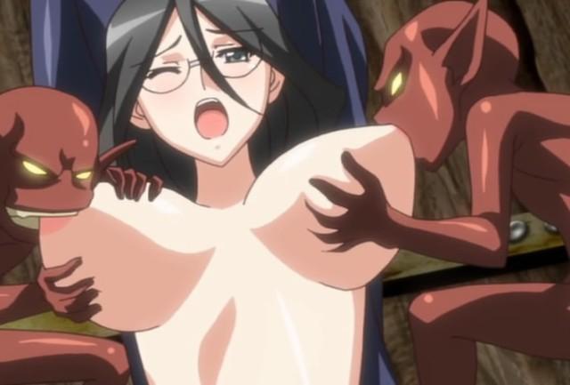 HentaiStream.com Kuroinu: Kedakaki Seijo wa Hakudaku ni Somaru Episode 2
