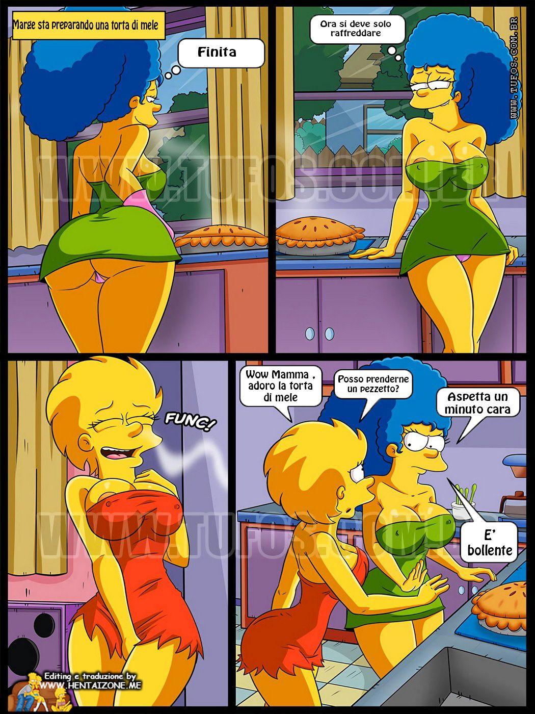Simpson Torta di mele