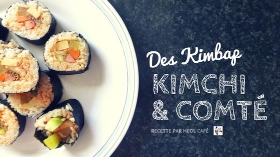 Kimbap recette