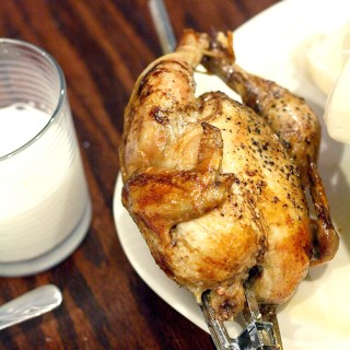 Basic roasted Cornish game hen