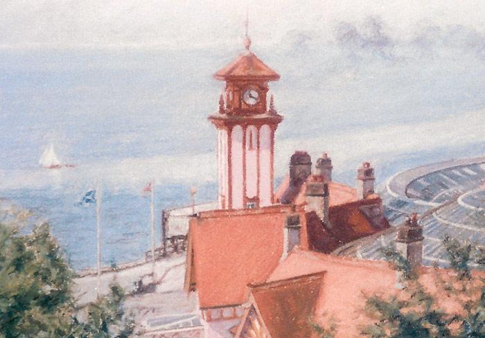 Detail of Wemyss Bay Station