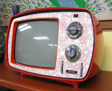 Philco Flower Power TV