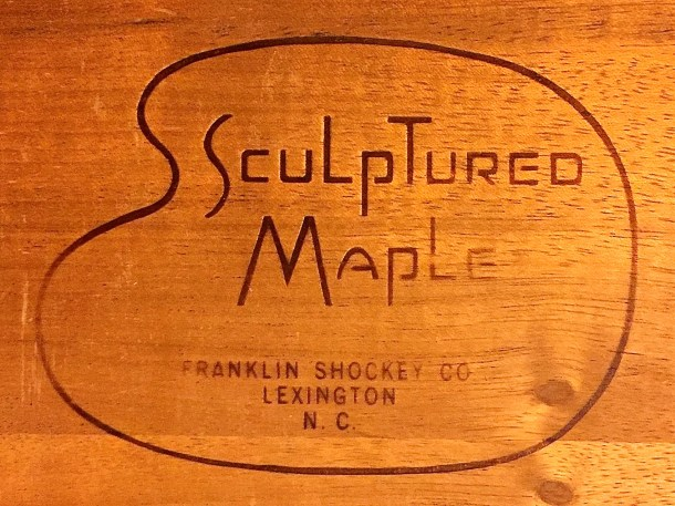 Sculptured Maple By The Franklin Shockey Company Hepcats