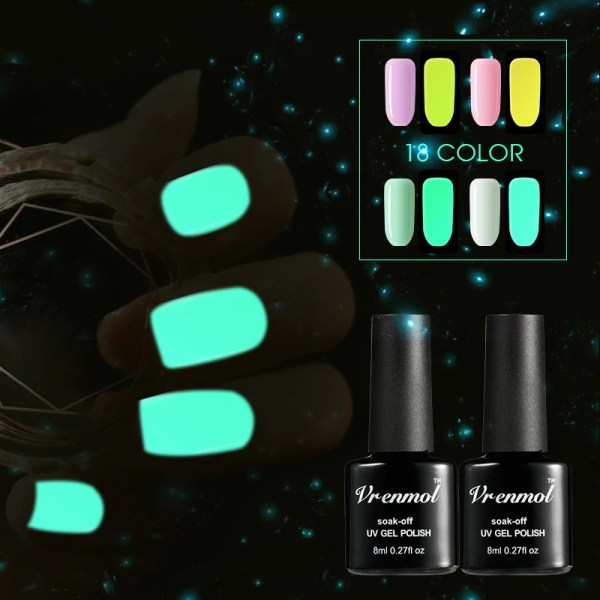 1pcs Glow In The Dark Nail Gel