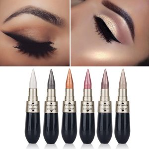 Waterproof 2 in 1 Black Liquid Eyeliner Pen
