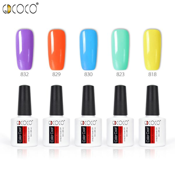 Nail Gel Polish – Newest Colors – Fast Dry – 8ml
