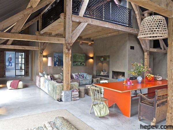 authentic farm house