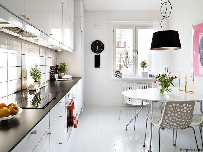 Beautiful Minimalist Modern Kitchen Swedish Family House Interior Ideas