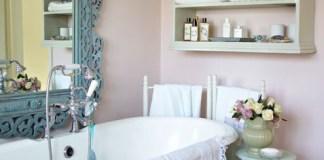 romantic style bath