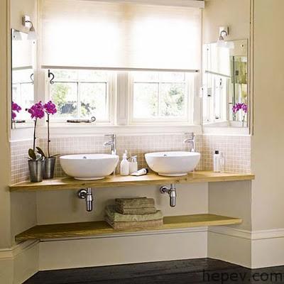 Banyolarda Çift Lavabo