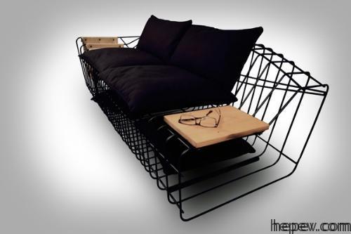 Metal-Sofa-Designs