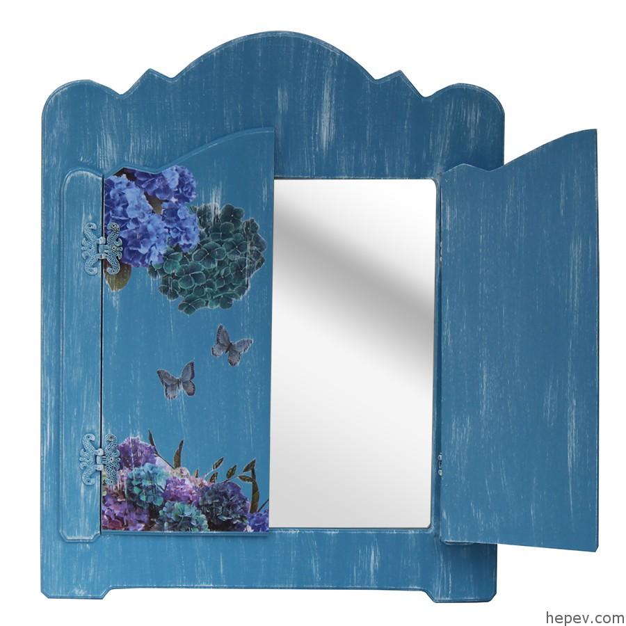 Pencereli Ayna Dekorasyonu