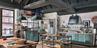 retro style kitchen