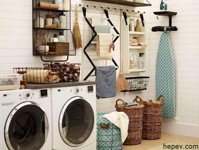washing room decoratipn