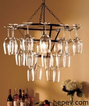 wine glass deco