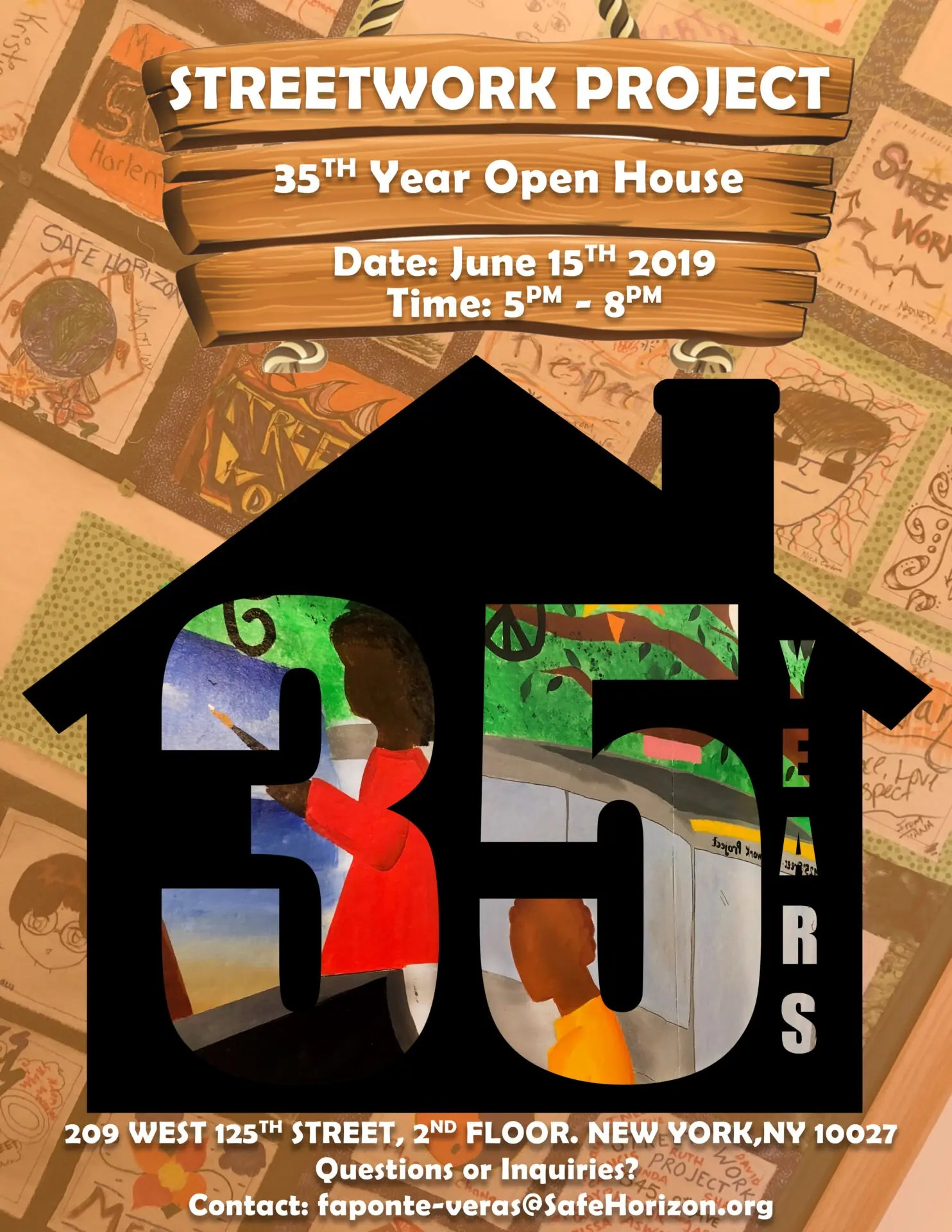 Streetwork Project 35th Year Open House