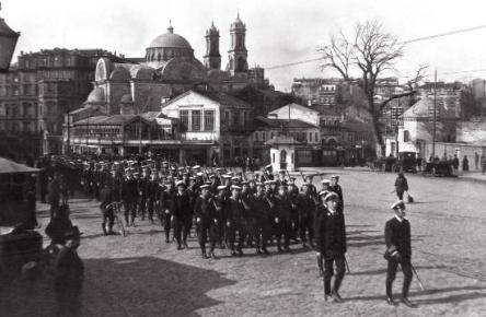 Eski Istanbul - Taksim, Ingiliz Isgal Kuvvetleri 1920