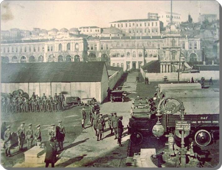 Eski Istanbul - Tophane Isgal Yillari