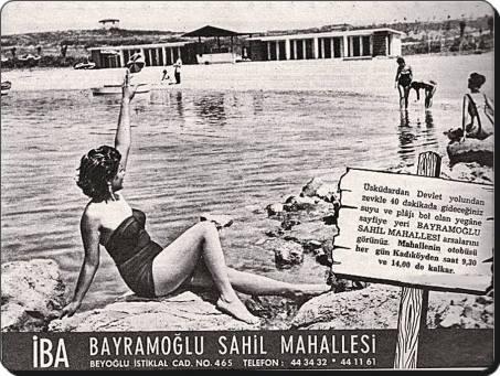 Eski Istanbul - Uskudar 1950 ler