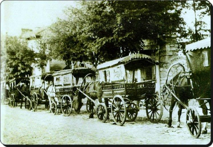 Eski Istanbul - Uskudar Haydarpasa Faytonları 1930 lar