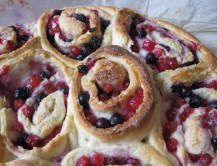 Red Currant and Marzipan Swirls