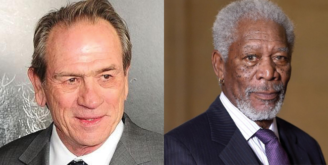 morgan freeman-tommy lee jones